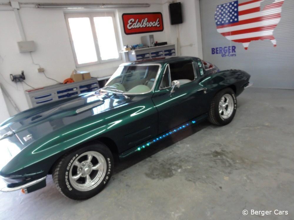 verkauft corvette c2 baujahr 1964 berger cars werkstatt f r corvette mustang u a us. Black Bedroom Furniture Sets. Home Design Ideas