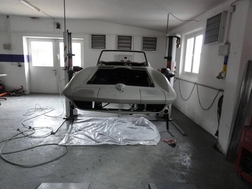 corvette c 2 restaurieren berger cars werkstatt f r corvette mustang u a us fahrzeuge m nchen. Black Bedroom Furniture Sets. Home Design Ideas