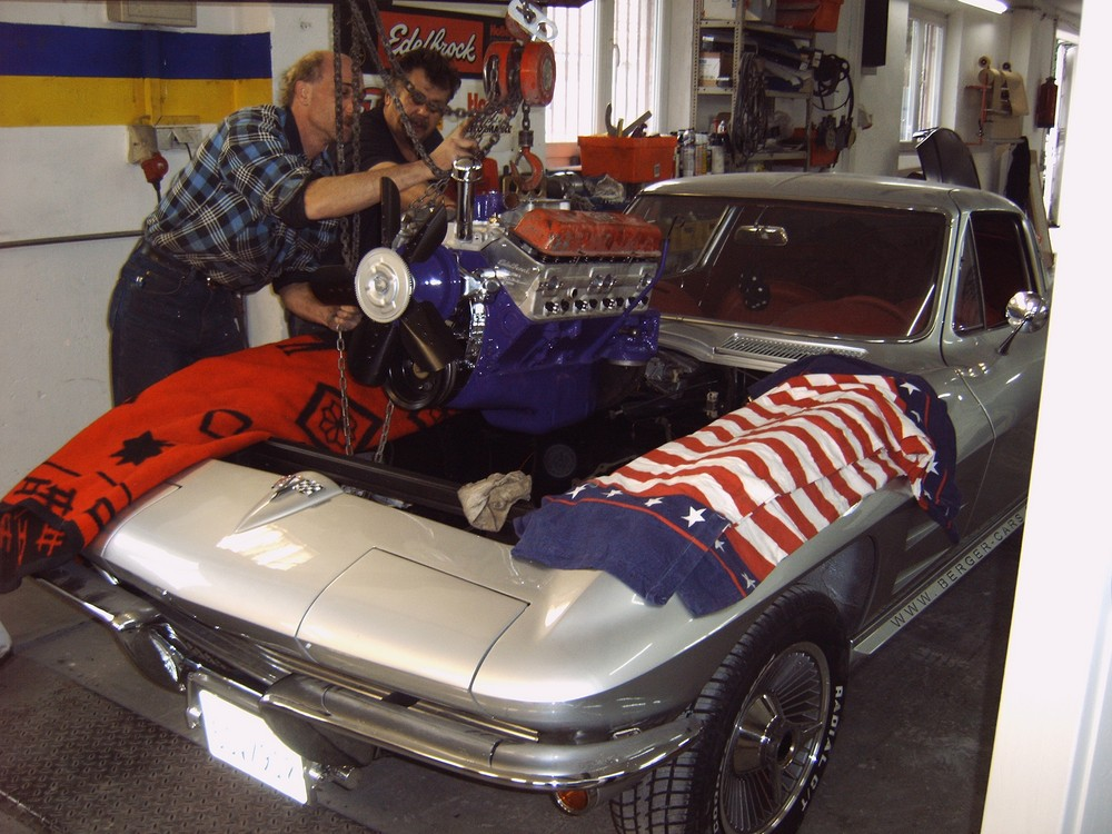corvette c 2 berger 39 s baby berger cars werkstatt f r corvette mustang u a us fahrzeuge. Black Bedroom Furniture Sets. Home Design Ideas