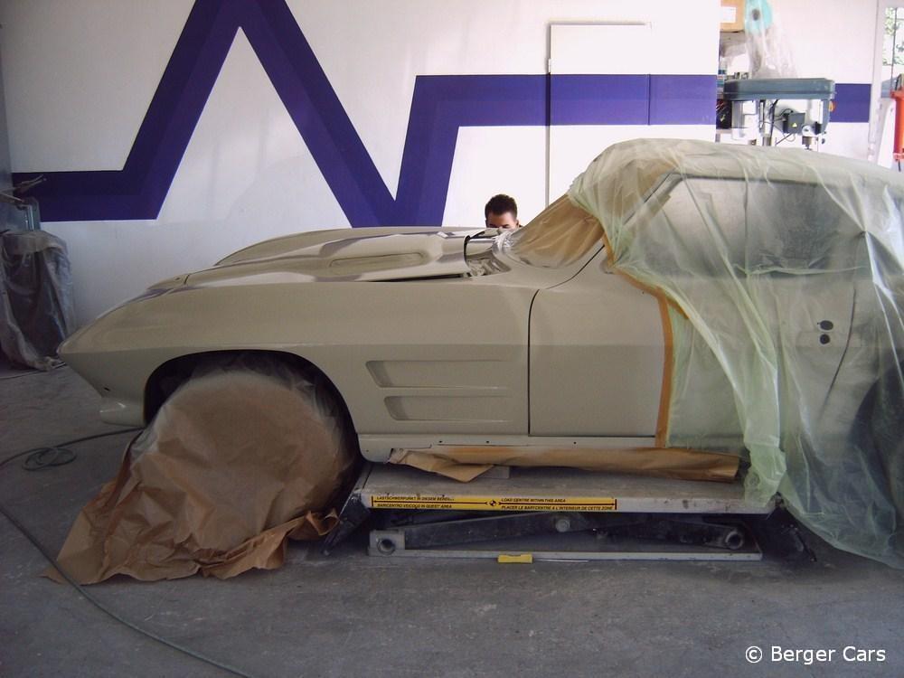 Corvette: Polyester