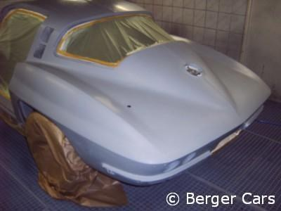 Corvette: Füller