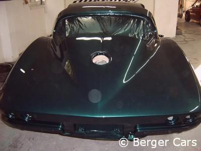 Corvette Einbrennlackierung