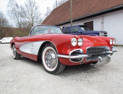 Corvette C1 – Reparatur beendet!