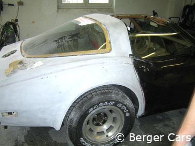 Corvette Lackierung