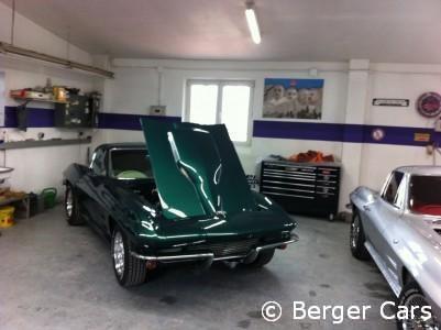Corvette C2 1964 Grün