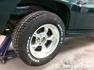Corvette C2 1964 Grün: Felgen