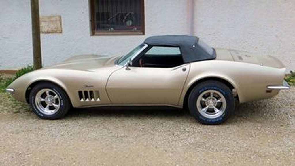 Corvette C3 1968 – Restaurationsende