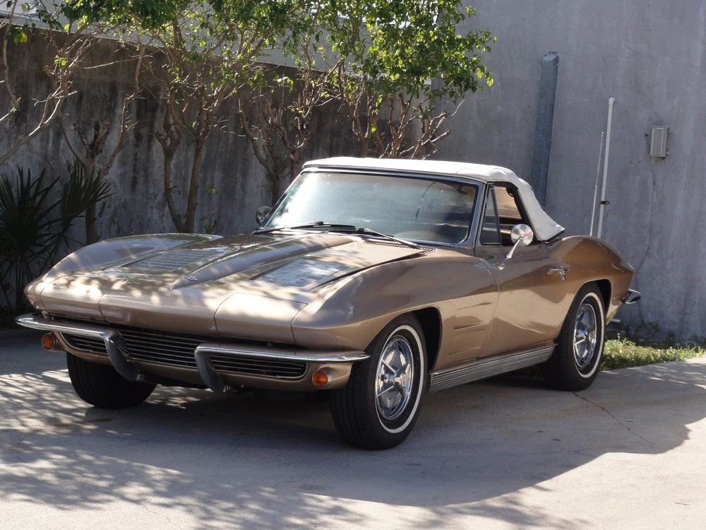 Corvette C2 1963 – Restauration