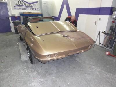 Corvette C2 restaurieren