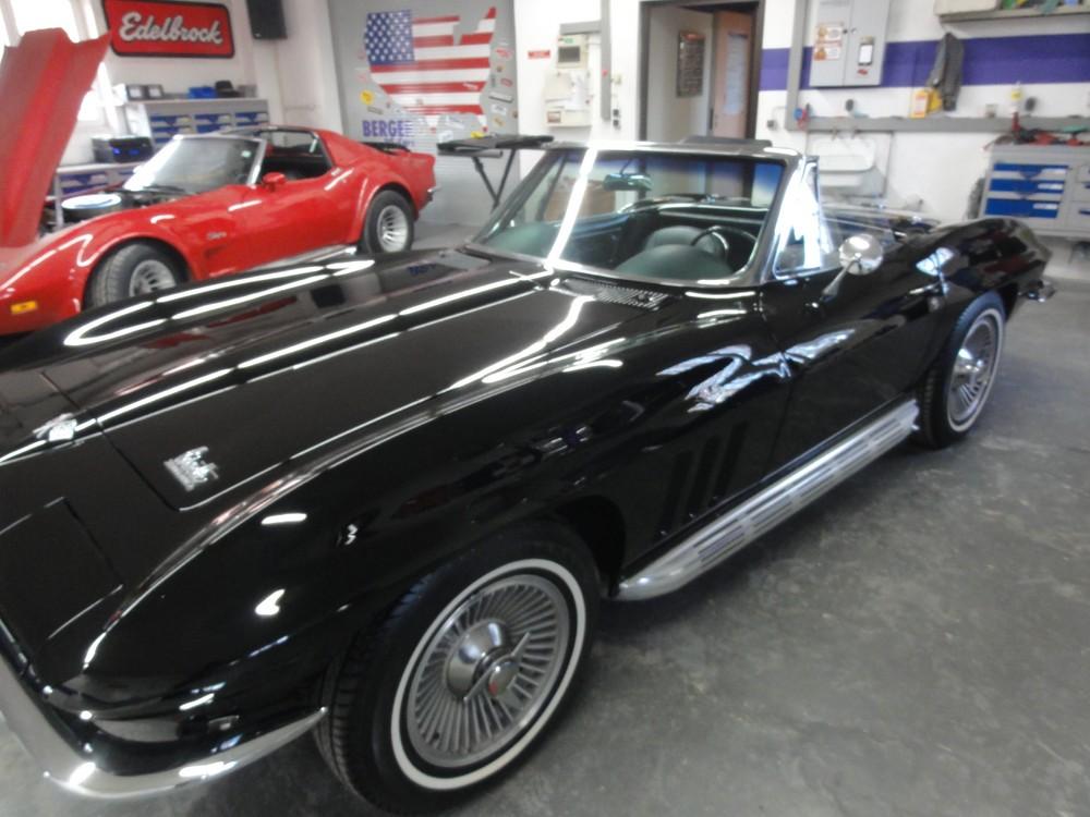 Corvette C2 1965 – Unfallinstandsetzung