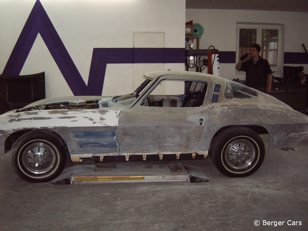 Corvette: Entlackt
