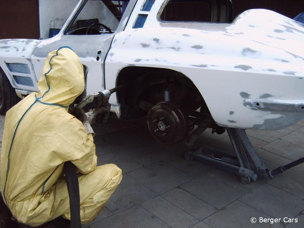 Corvette: Eisstrahlen