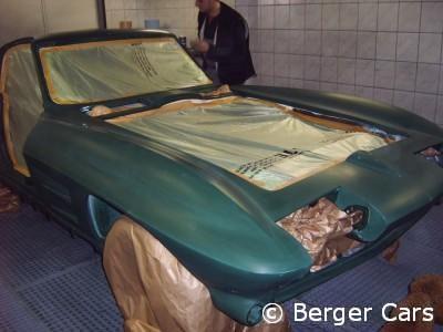 Corvette: Einschicht