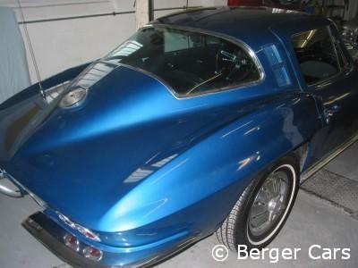 Corvette: Alter Zustand