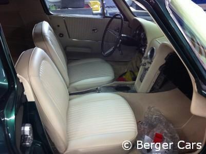 Corvette C2 1964 Grün: Interieur