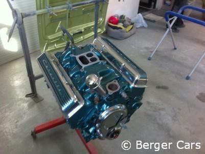 Corvette C2 1964 Grün: Motor